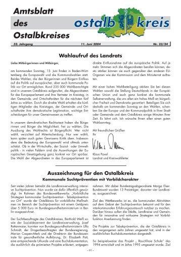 Amtsblatt von KW 23/24/2004 (90.2 KB application/pdf) - Ostalbkreis