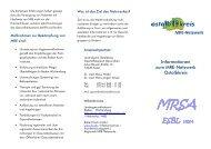 Informationen zum MRE-Netzwerk Ostalbkreis - Gesundheitsnetz ...