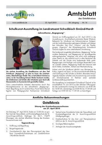 Amtsblatt von KW 16/2010 (141.2 KB application/pdf) - Ostalbkreis