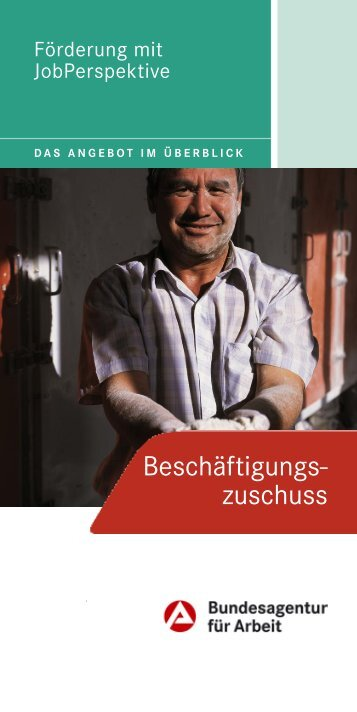Beschäftigungszuschuss - Jobcenter Bremen
