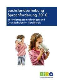 Sachstandsbericht zur Sprachförderung in ... - Ostalbkreis