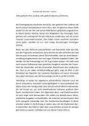 Haushaltsrede 2014 der FDP-Fraktion - Ostalbkreis