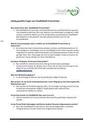 Häufig gestellte Fragen zum OstalbMobil-FirmenTicket: