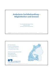 Ambulante Suchtbehandlung – Möglichkeiten und ... - Ostalbkreis
