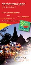 Veranstaltungen - Gemeinde Ostbevern