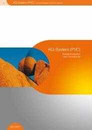 Katalog KG System PVC