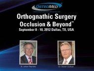 Orthognathic Surgery - OsteoMed