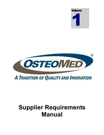 Magna supplier quality requirements manual rev2 for Supplier quality manual template