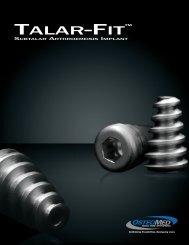 TALAR-FIT™ - OsteoMed