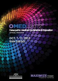 View program - American Osteopathic Association