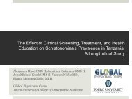 The Effect of Clinical Screening, Treatment, and Health Education ...