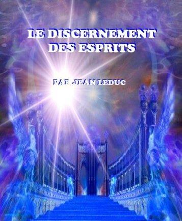 Le discernement des esprits
