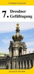 28. und 29. Mai 2010 Vorläufiges Programm - der Deutschen ...
