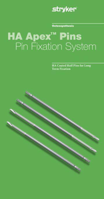 HA Apex Pin Flyer - Stryker
