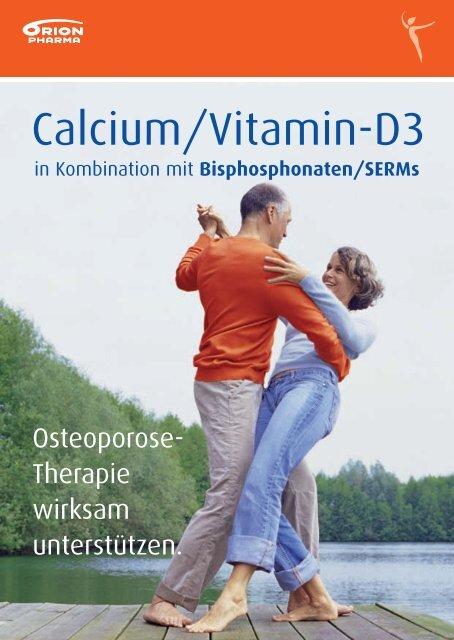 Calcium/Vitamin-D3 in Kombination mit Bisphosphonaten