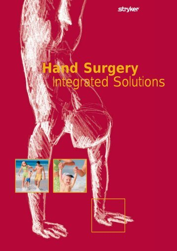 Hand Surgery Integrated Solutions - Stryker