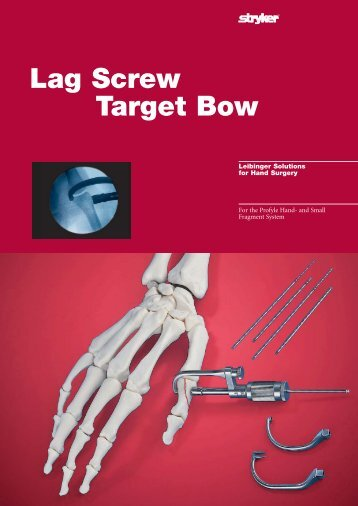 Lag Screw Target Bow - Stryker