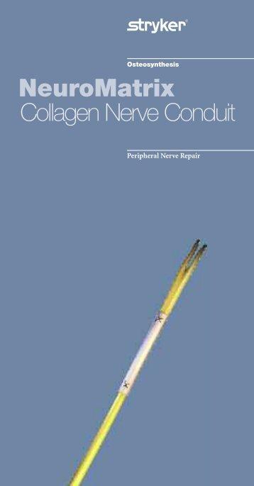 NeuroMatrix Collagen Nerve Conduit - Stryker