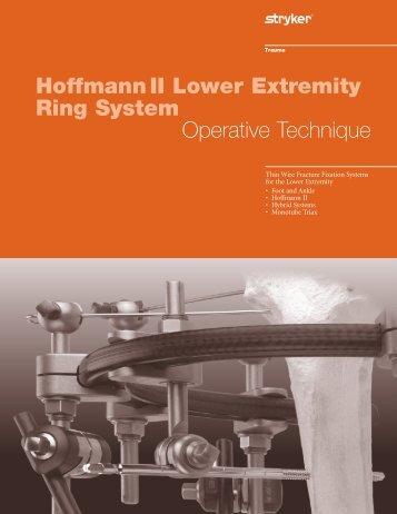 HoffmannII TenXor Hybrid Operative Technique - Stryker