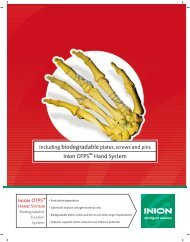 Inion OTPS™ Hand System - Stryker