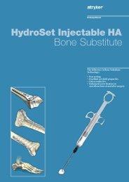 HydroSet Brochure - Stryker