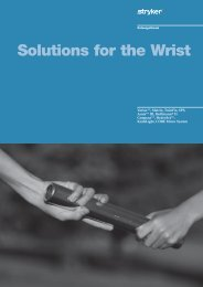 Solutions for the Wrist - Stryker