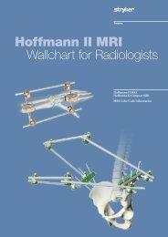 Hoffmann II MRI Wallchart for Radiologists - Stryker