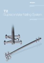 T2 Supracondylar Nailing System - Stryker