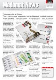 Twee nieuwe catalogi van Medomat - Europa's grootste catalogus ...