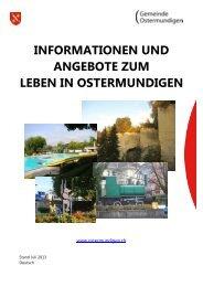 Leben in Ostermundigen - Gemeinde Ostermundigen