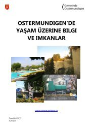 Willkommen in Ostermundigen - Gemeinde Ostermundigen