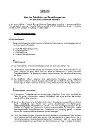7.01 Satzung über das Friedhofs- und Bestattungswesen in der ...