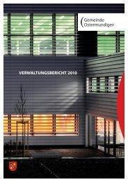 VERWALTUNGSBERICHT 2010 - Gemeinde Ostermundigen