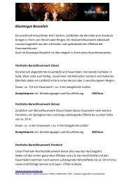 Klostergut Besselich Angebot - Feuerwerk erleben