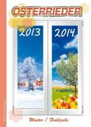 Winterkatalog 2013/2014 - Osterrieder Reisen