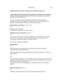 Arbetsordning för kommunfullmäktige - Östersunds kommun