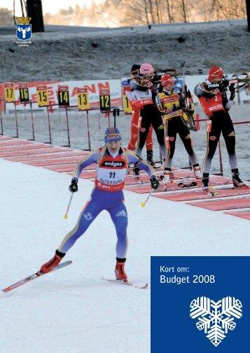 Budget 2008, populärversion - Östersunds kommun