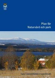 Plan för naturvård och park, Beslut KF20130314 - Östersunds kommun