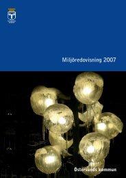 Miljöredovisning 2007 - Östersunds kommun