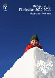 Budget 2011 Flerårsplan 2012-2013 - Östersunds kommun