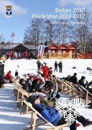 Budget 2010webb - Östersunds kommun