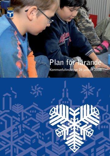 Plan för lärande - Östersunds kommun