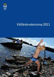Välfärdsredovisning 2011 - Östersunds kommun
