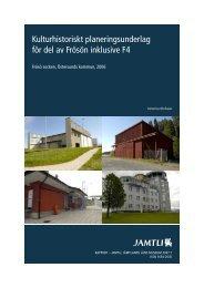 Kulturmiljöinventering webb - Östersunds kommun