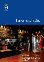 Riktlinjer för serveringstillstånd - Östersunds kommun