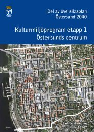 Kulturmiljöprogram 20130110 - Östersunds kommun