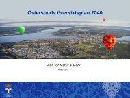 Pågående arbete med ÖP 2040 - Östersunds kommun