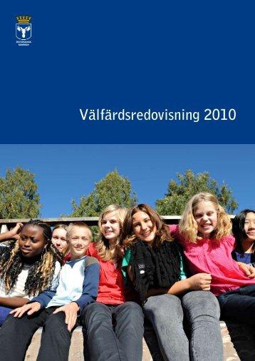 Välfärdsredovisning 2010 - Östersunds kommun