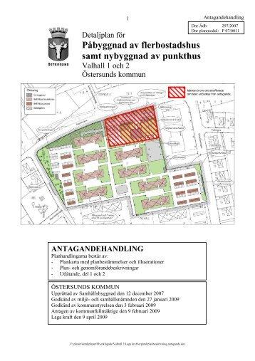 planbeskrivning - Östersunds kommun