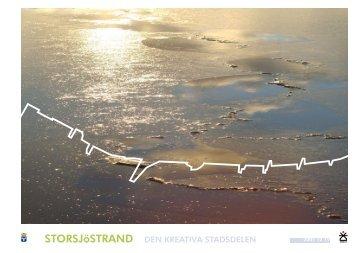 STORSJöSTRAND DEN KREATIVA STADSDELEN - Östersunds ...